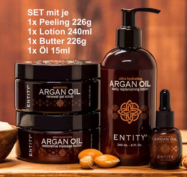 Entity ARGAN OIL Luxus-Pflege >Im Set oder Einzeln